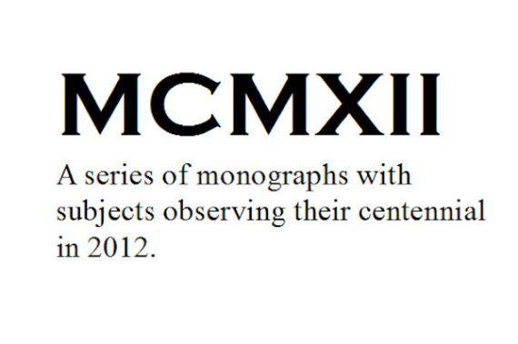 MCMXII - 1912